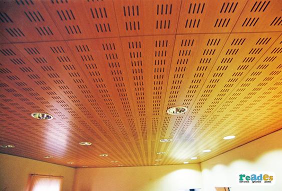 Revestimientos en techos reades - Falso techo modular ...