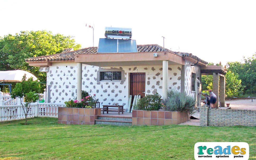 Aislamiento de fachada vivienda Sistema SATE